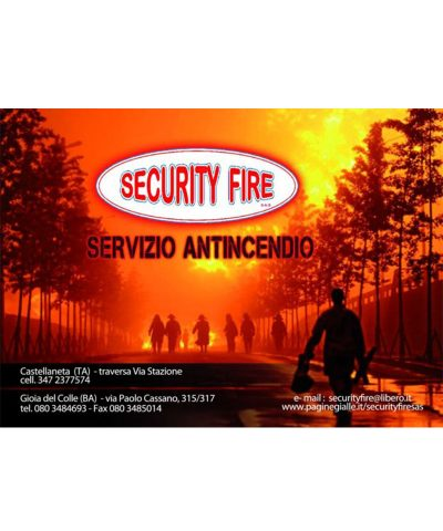 SECURITY FIRE di LEO Rosa & C. S.a.s.